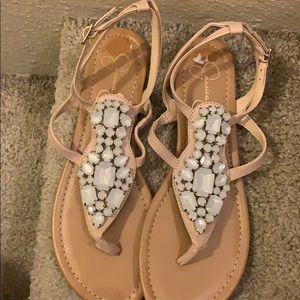 New Fancy Jessica Simpson sandal